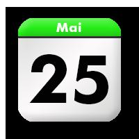 25. Mai