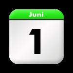 1. Juni